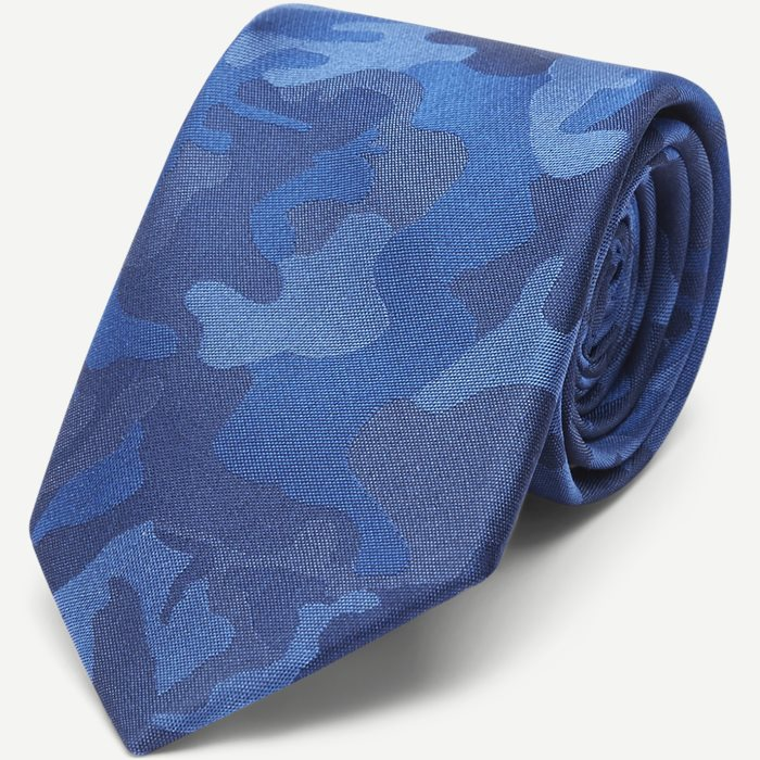 Shades Of Blue Camo Slips - Slips - Blå