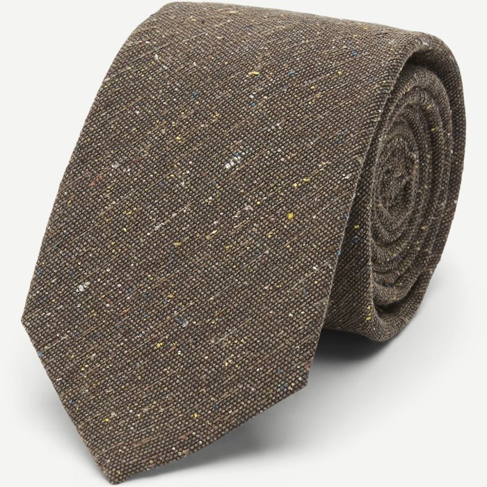 Dark Brown Textured Slips - Slips - Brun