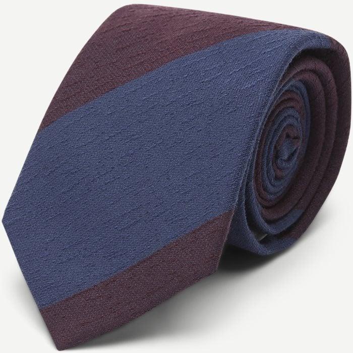 Krawatten - Weinrot