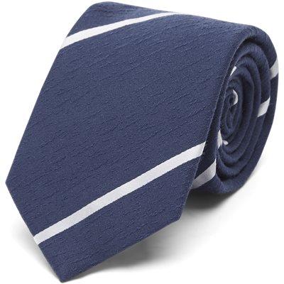 Navy Textured Stripes Slips Navy Textured Stripes Slips | Blå