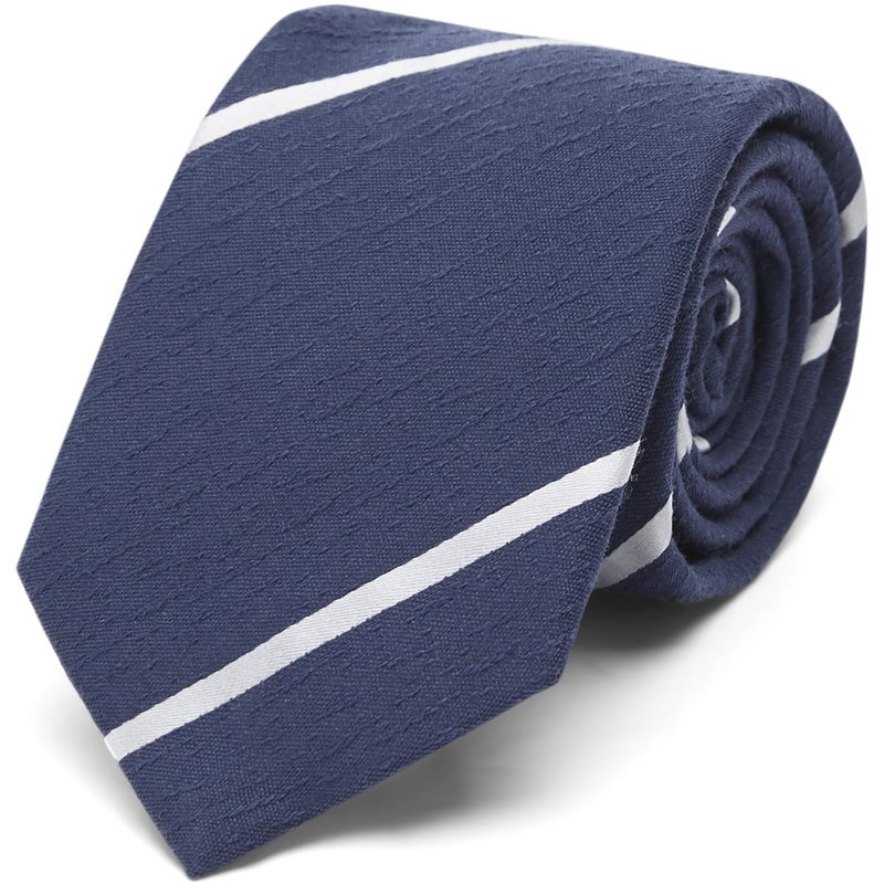 Image of An Ivy - Navy Textured Stripes Slips