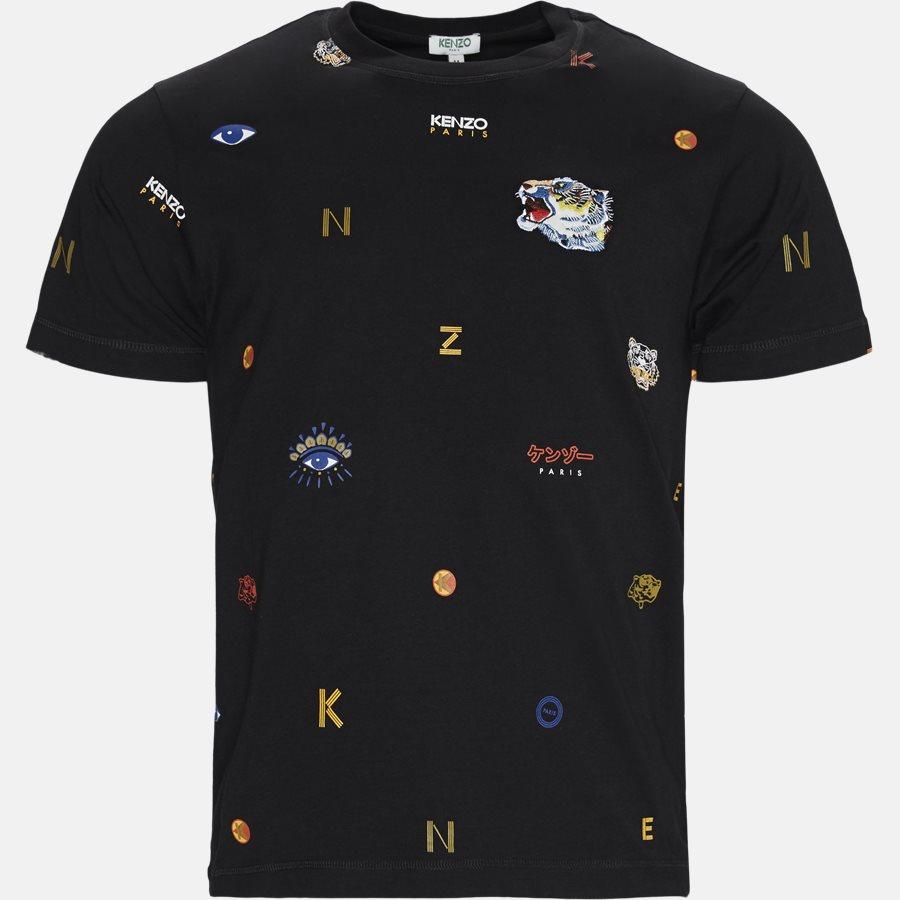 4YH 5TS006 - T-shirts - BLACK - 1