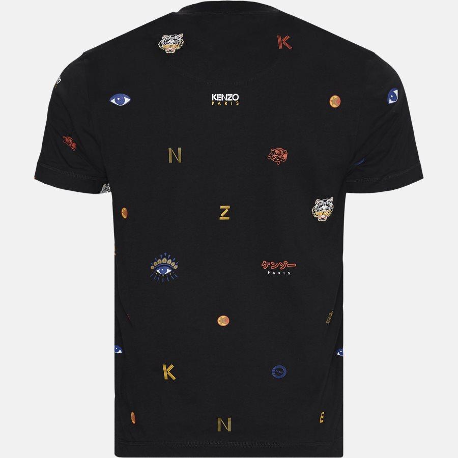 4YH 5TS006 - T-shirts - BLACK - 2