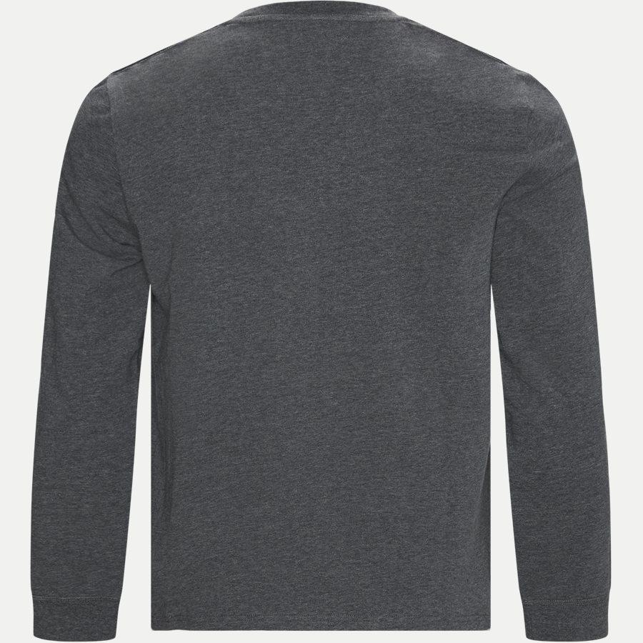 714780225 - Long Sleeved Stretch Tee - T-shirts - Regular - GRÅ - 2