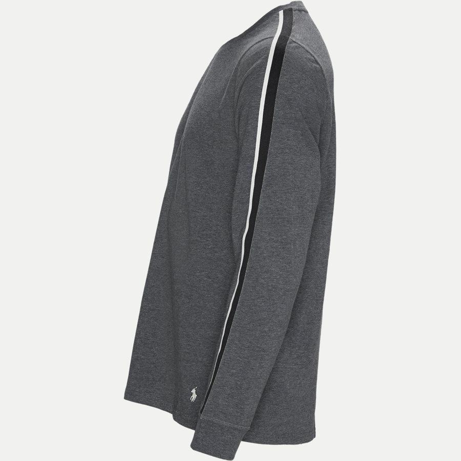 714780225 - Long Sleeved Stretch Tee - T-shirts - Regular - GRÅ - 3