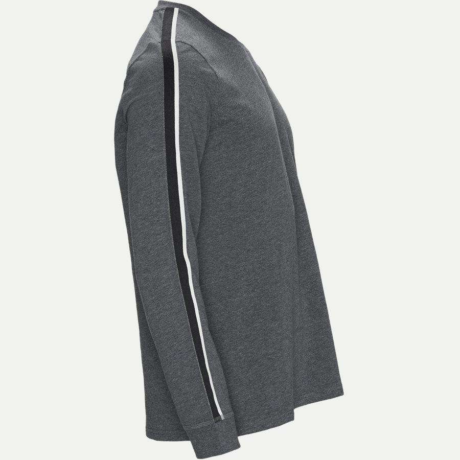 714780225 - Long Sleeved Stretch Tee - T-shirts - Regular - GRÅ - 4