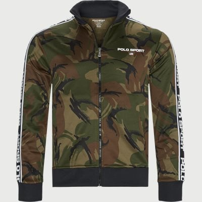 Polo Sport Camo Zip Sweatshirt Regular | Polo Sport Camo Zip Sweatshirt | Army