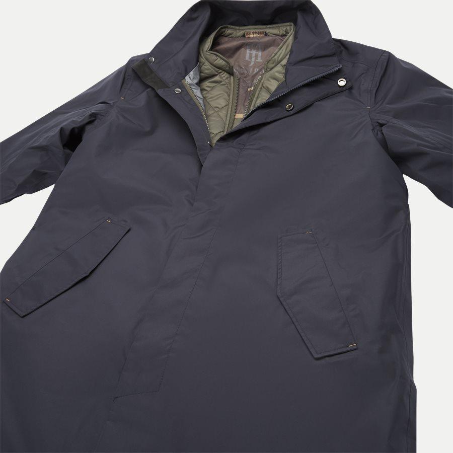 06021 RICK INZIP JACKET - Jackets - Regular - NAVY - 4