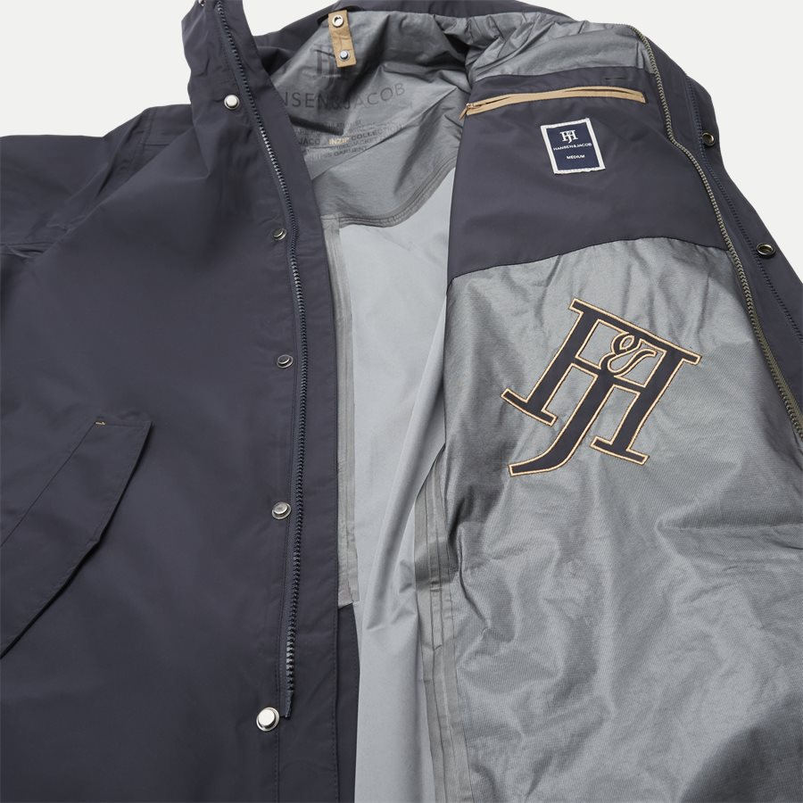 06021 RICK INZIP JACKET - Jackets - Regular - NAVY - 7