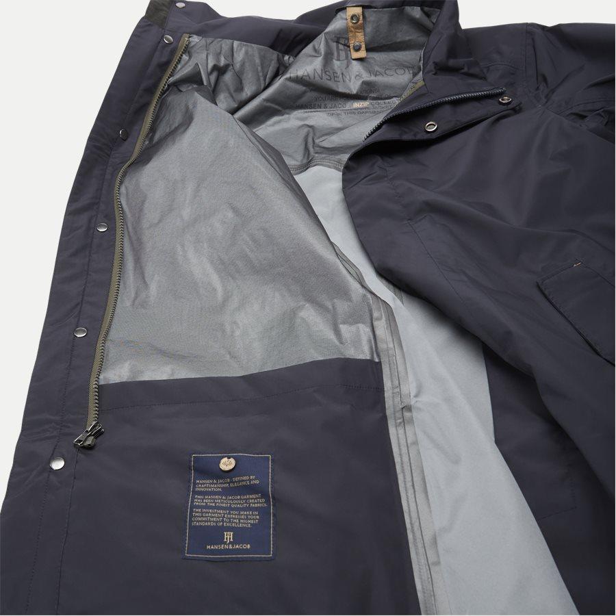 06021 RICK INZIP JACKET - Jackets - Regular - NAVY - 8