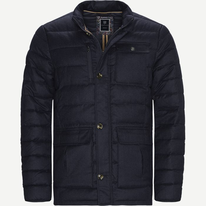 Light Down Doe jacket  - Jakker - Regular - Blå