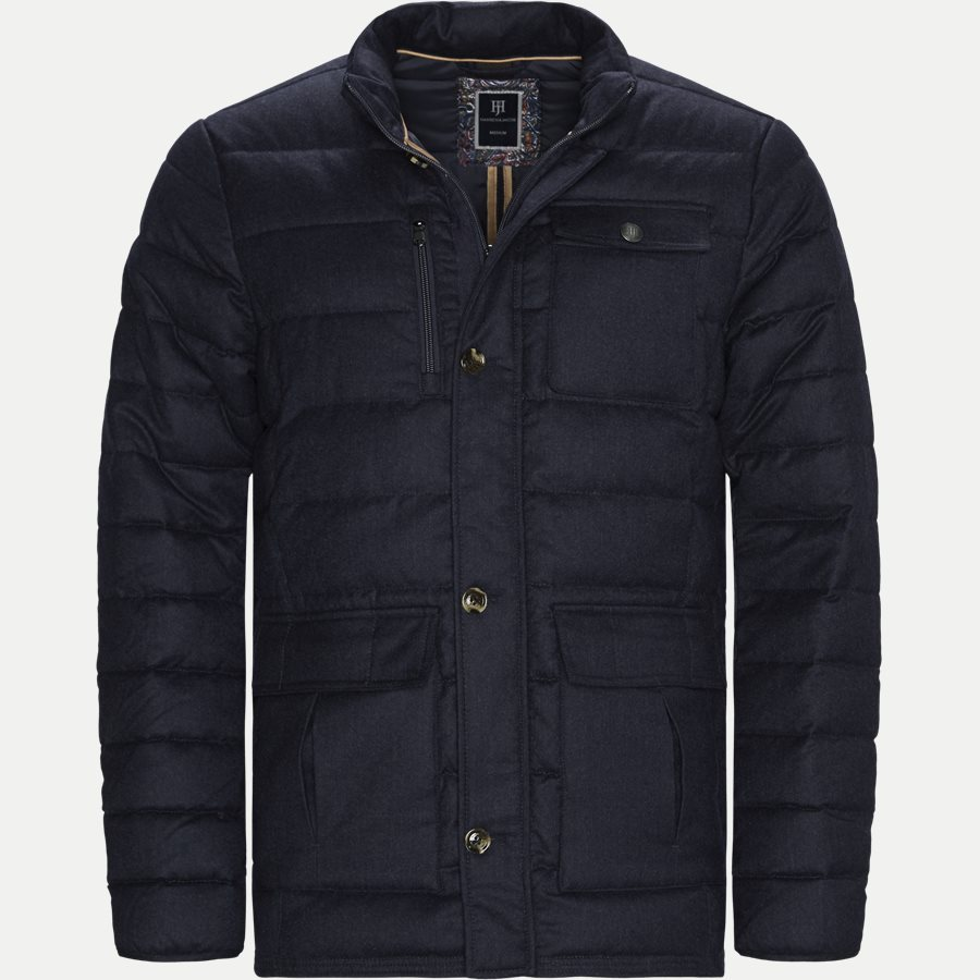 04883 LIGHT DOWN DOE JACKET - Jackets - Regular - NAVY - 1