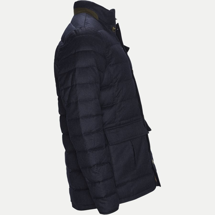 04883 LIGHT DOWN DOE JACKET - Jackets - Regular - NAVY - 4