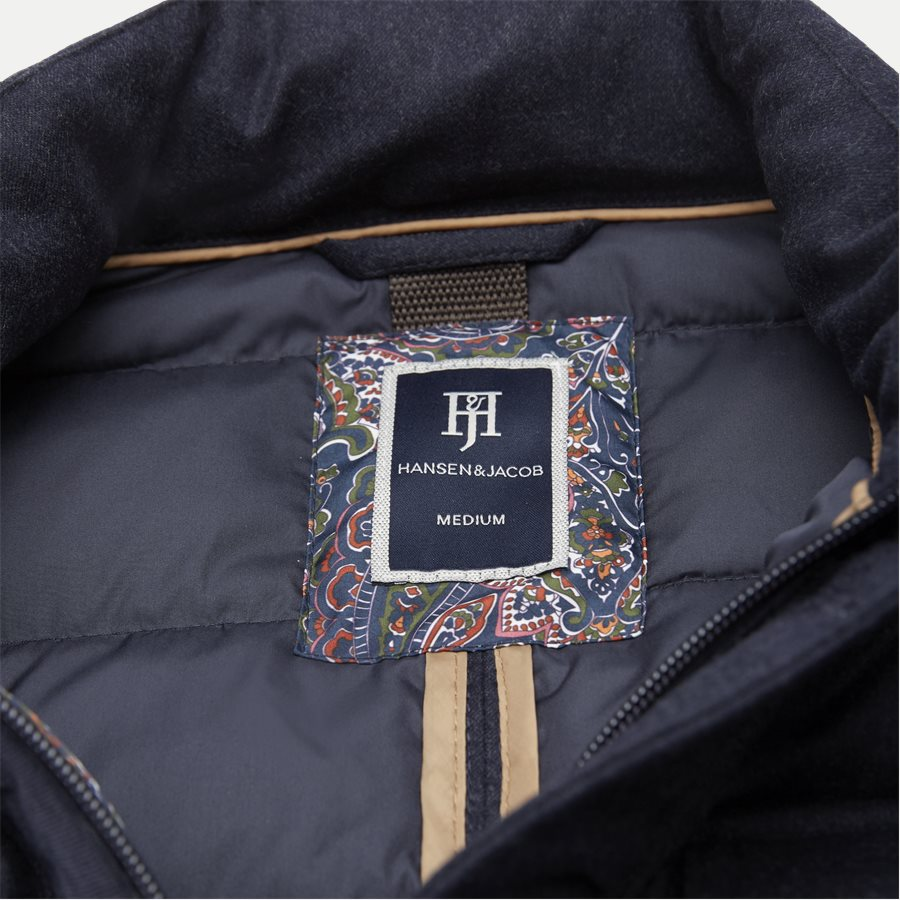 04883 LIGHT DOWN DOE JACKET - Jackets - Regular - NAVY - 5