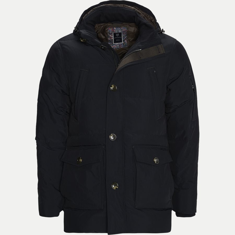 04882 DOWN PUFFER PARKA - Jackets - Regular - NAVY - 1