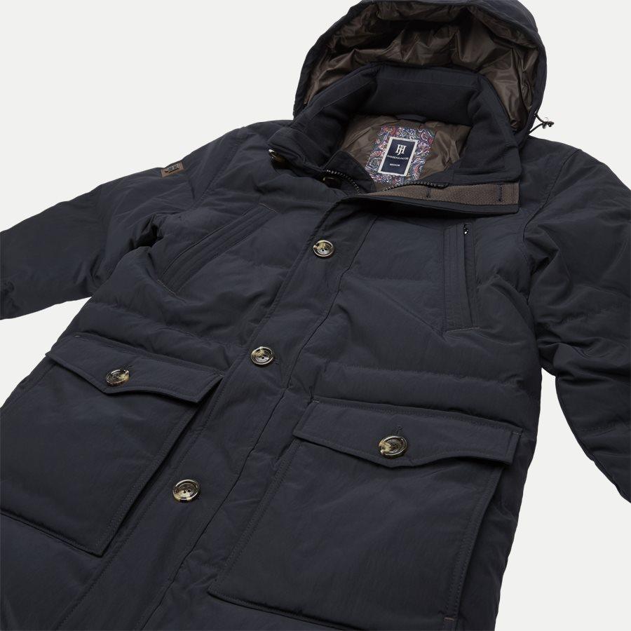 04882 DOWN PUFFER PARKA - Jackets - Regular - NAVY - 4