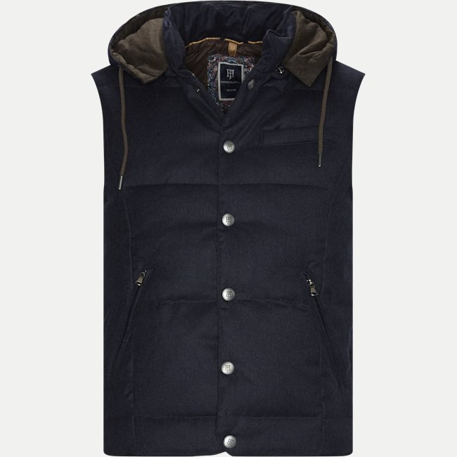 LT Down Wool Vest