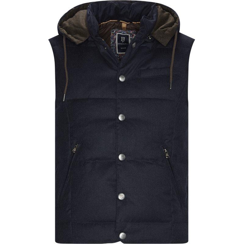 Image of   Hansen & Jacob - LT Down Wool Vest