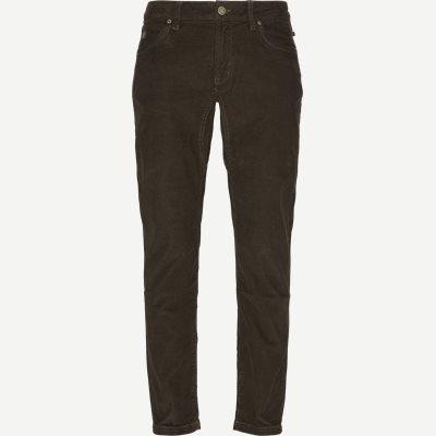 Slim | Jeans | Brun