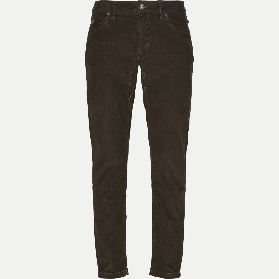 04843 SEW BABYCORD - Cut´ N Sew Babycord   - Jeans - Slim - BRUN - 1