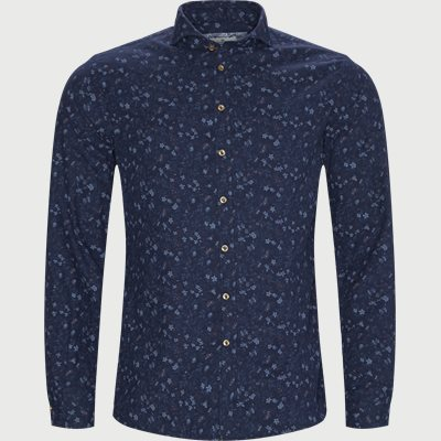 Shirt Polar Print Casual fit | Shirt Polar Print | Blå