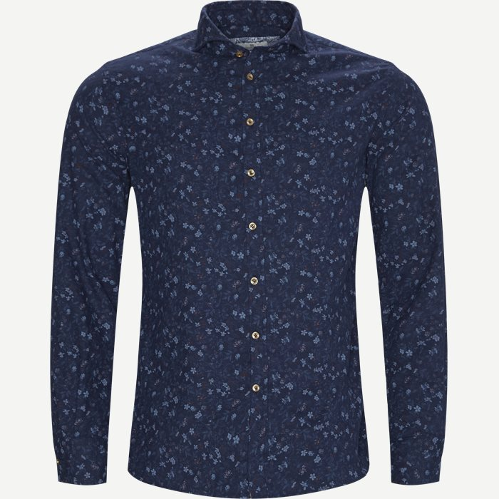 Shirt Polar Print - Skjorter - Casual fit - Blå