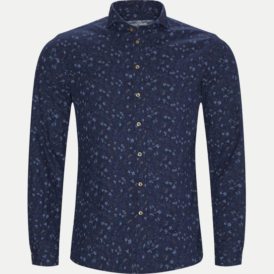 04941 POLAR PRINT - Shirt Polar Print - Skjorter - Casual fit - BLÅ - 1