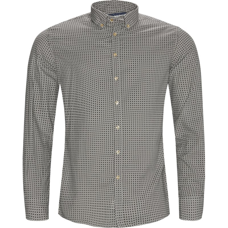 hansen & jacob – Hansen & jacob - shirt 60´s print på kaufmann.dk
