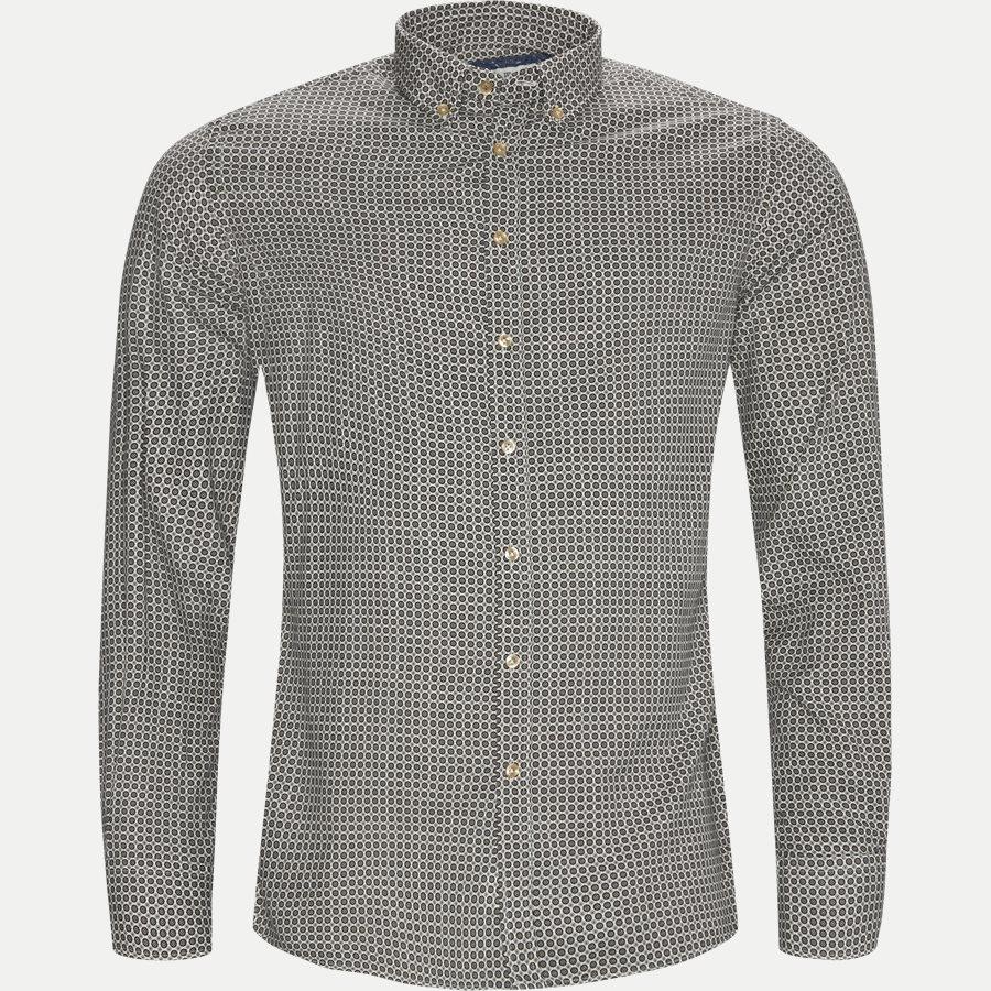 04943 60'S PRINT - Shirt 60´s Print - Skjorter - Casual fit - TOBACO - 1