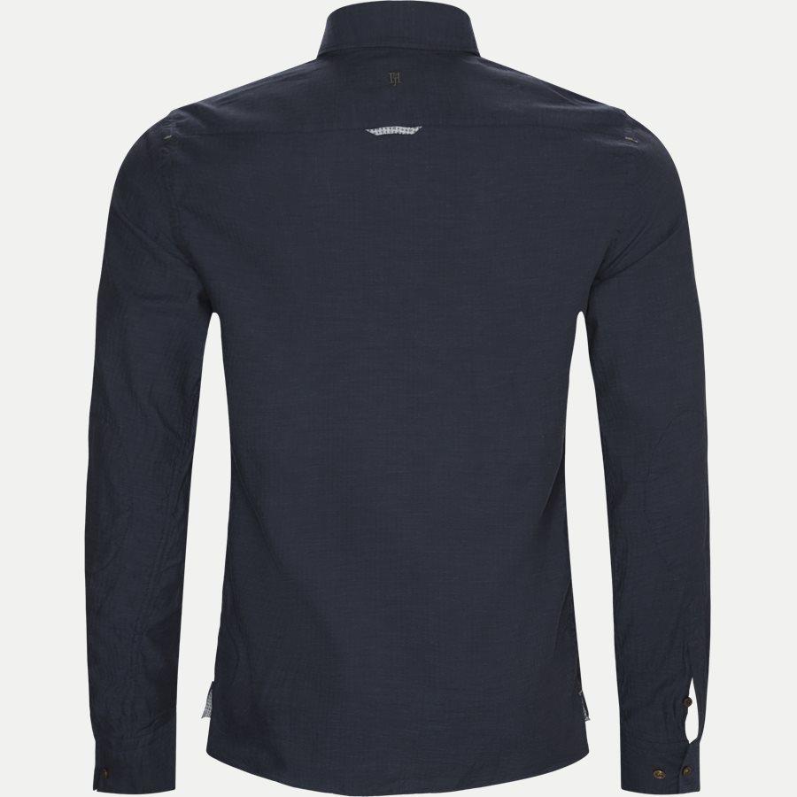 04947 SOLID MELANGE FLANEL - Shirt Solid Melange Flanel - Skjorter - Casual fit - NAVY - 2