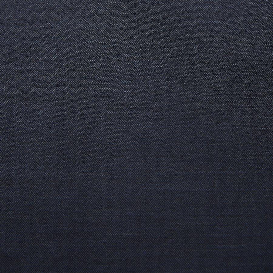 04947 SOLID MELANGE FLANEL - Shirt Solid Melange Flanel - Skjorter - Casual fit - NAVY - 6