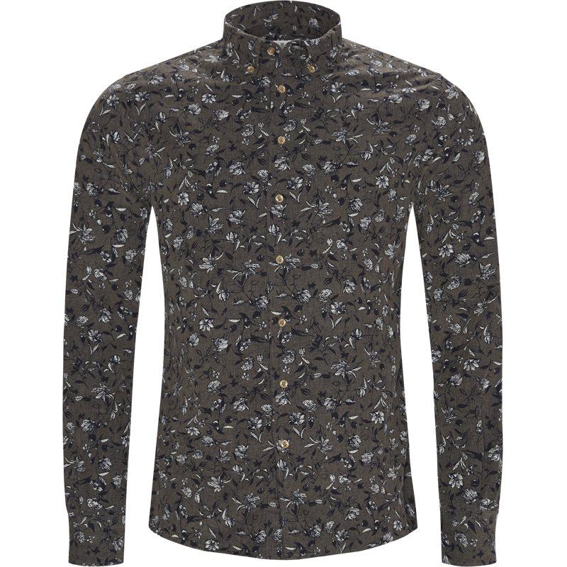 hansen & jacob Hansen & jacob - shirt velvet print på kaufmann.dk