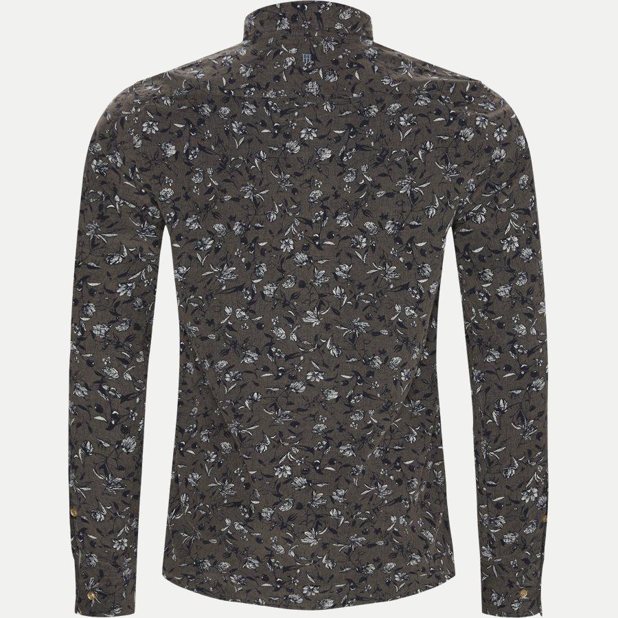 04936 VELVET PRINT - Shirt Velvet print - Skjorter - Casual fit - GRÅ - 2