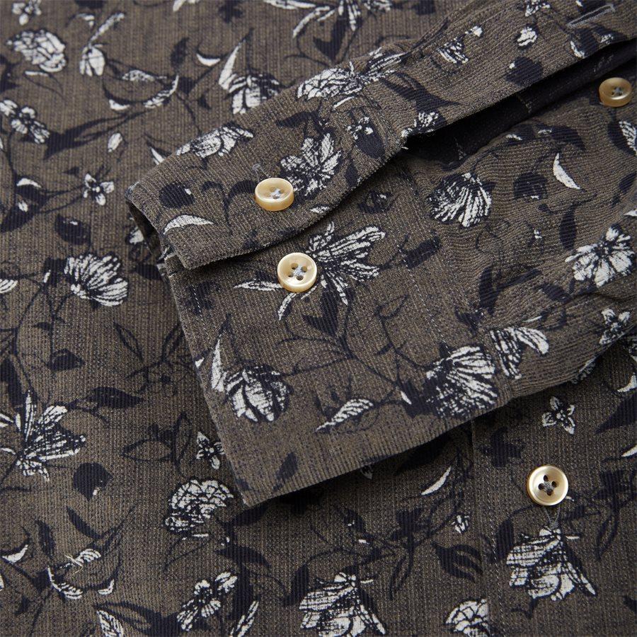 04936 VELVET PRINT - Shirt Velvet print - Skjorter - Casual fit - GRÅ - 3