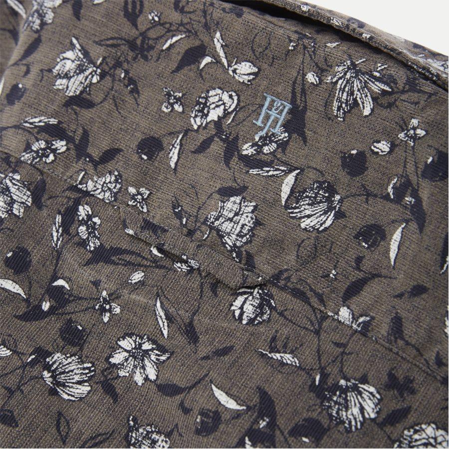 04936 VELVET PRINT - Shirt Velvet print - Skjorter - Casual fit - GRÅ - 4