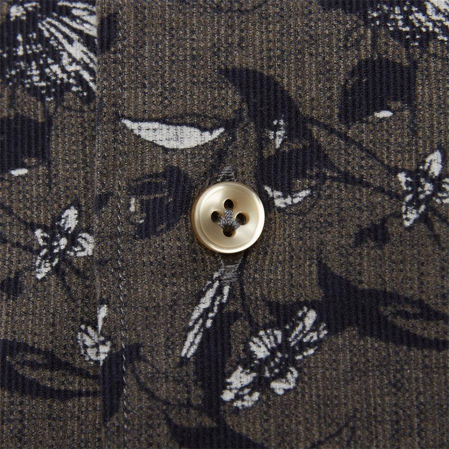 04936 VELVET PRINT - Shirt Velvet print - Skjorter - Casual fit - GRÅ - 6