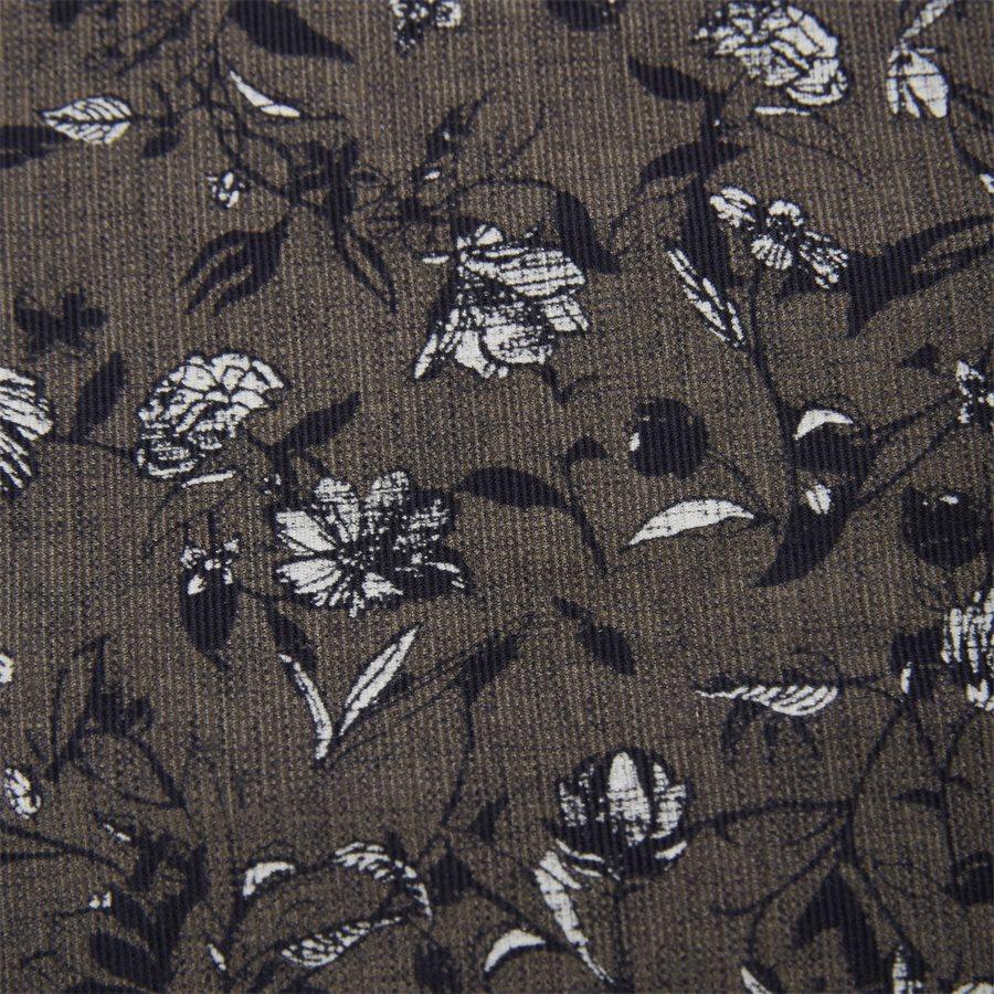 04936 VELVET PRINT - Shirt Velvet print - Skjorter - Casual fit - GRÅ - 7