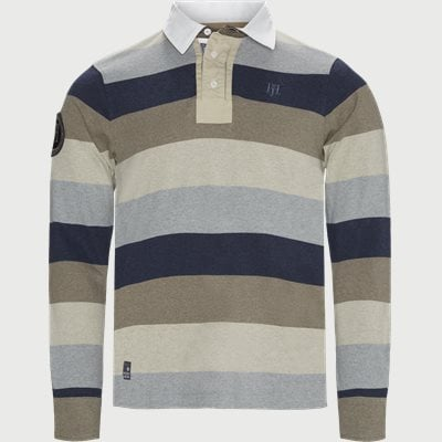 Multi Block Stripe Rugger Multi Block Stripe Rugger | Blå