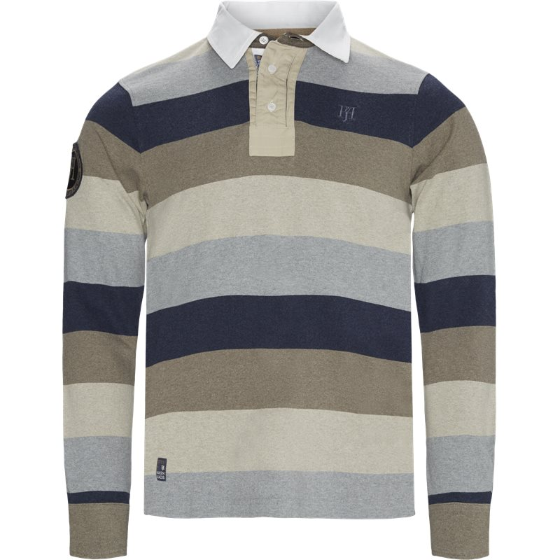 hansen & jacob – Hansen & jacob - multi block stripe rugger på kaufmann.dk