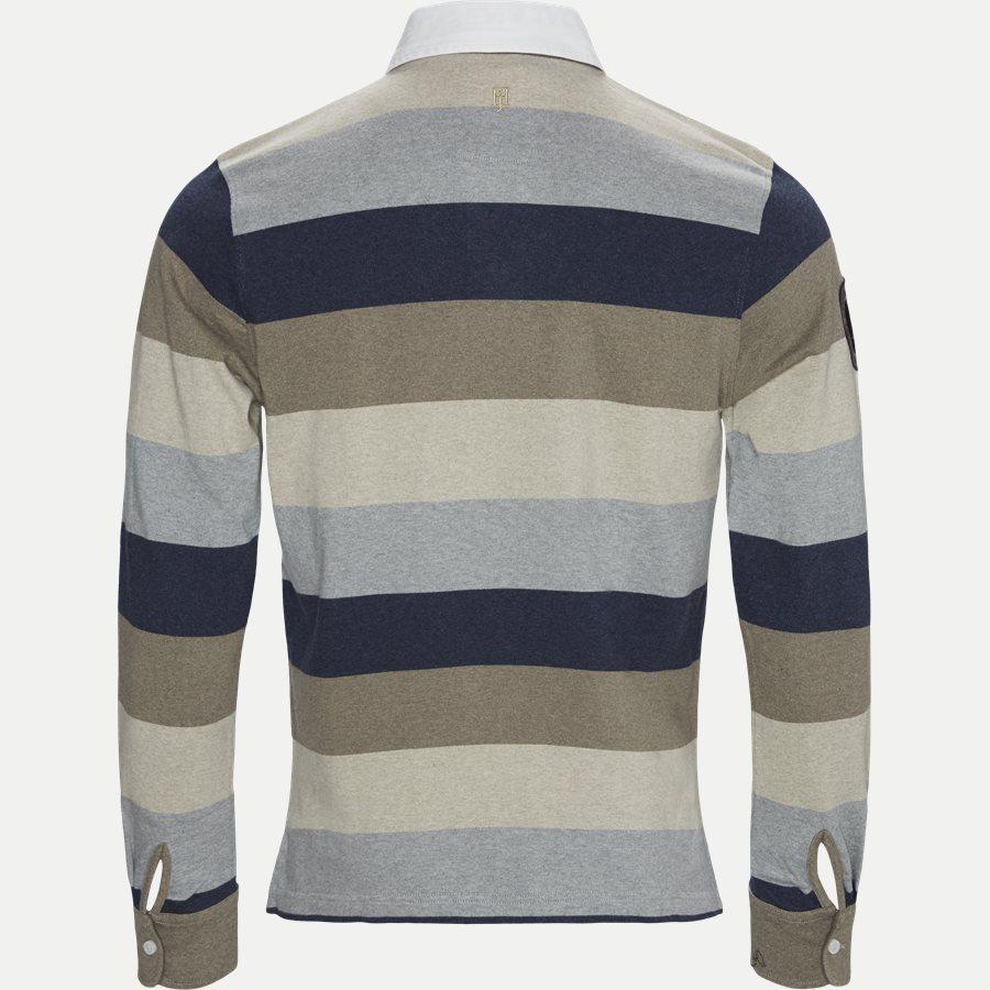 04912 BLOCK STRIPE RUGGER - Multi Block Stripe Rugger - Skjorter - NAVY - 2