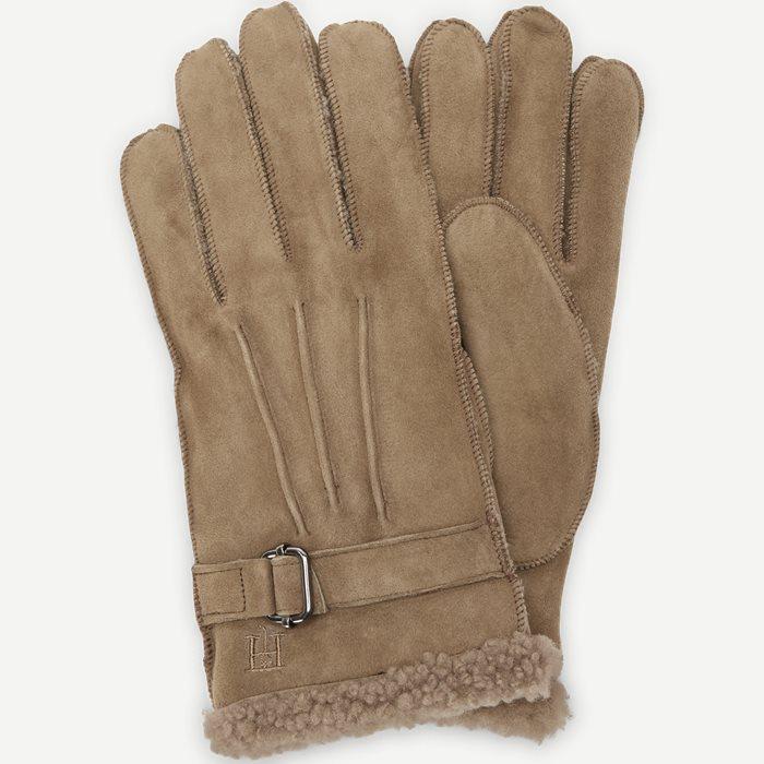 Shearling Glove - Handsker - Sand