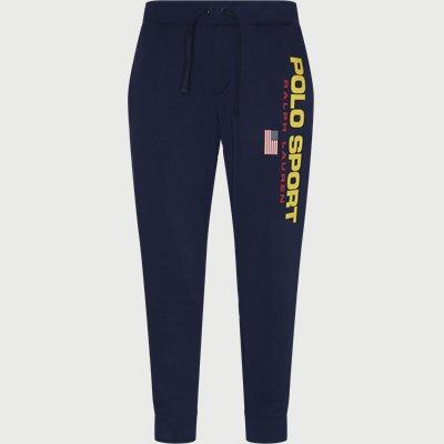 Logo Sweatpants Regular fit | Logo Sweatpants | Blå