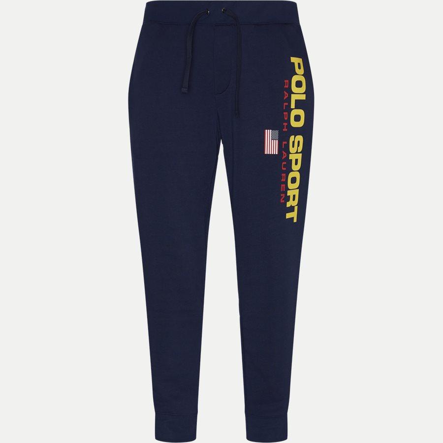 710770023 - Logo Sweatpants - Bukser - Regular - NAVY - 1