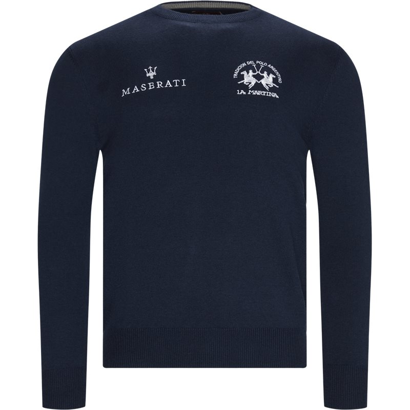 Image of   La Martina - Man Triot Crew Neck Knit