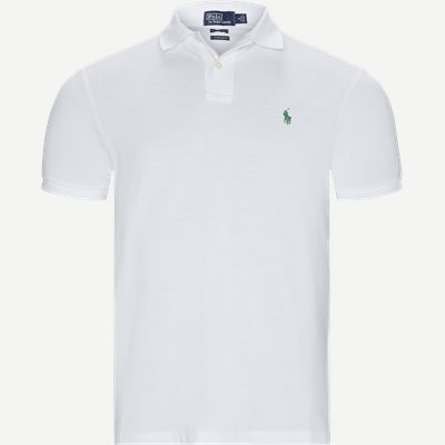 Custom Slim Fit Polo T-shirt Regular slim fit | Custom Slim Fit Polo T-shirt | Hvid