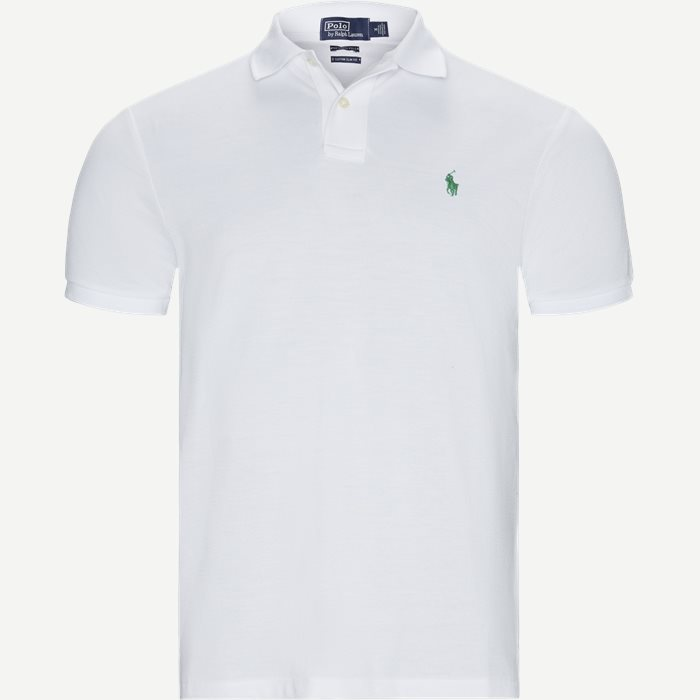 Custom Slim Fit Polo T-shirt - T-shirts - Regular slim fit - Hvid