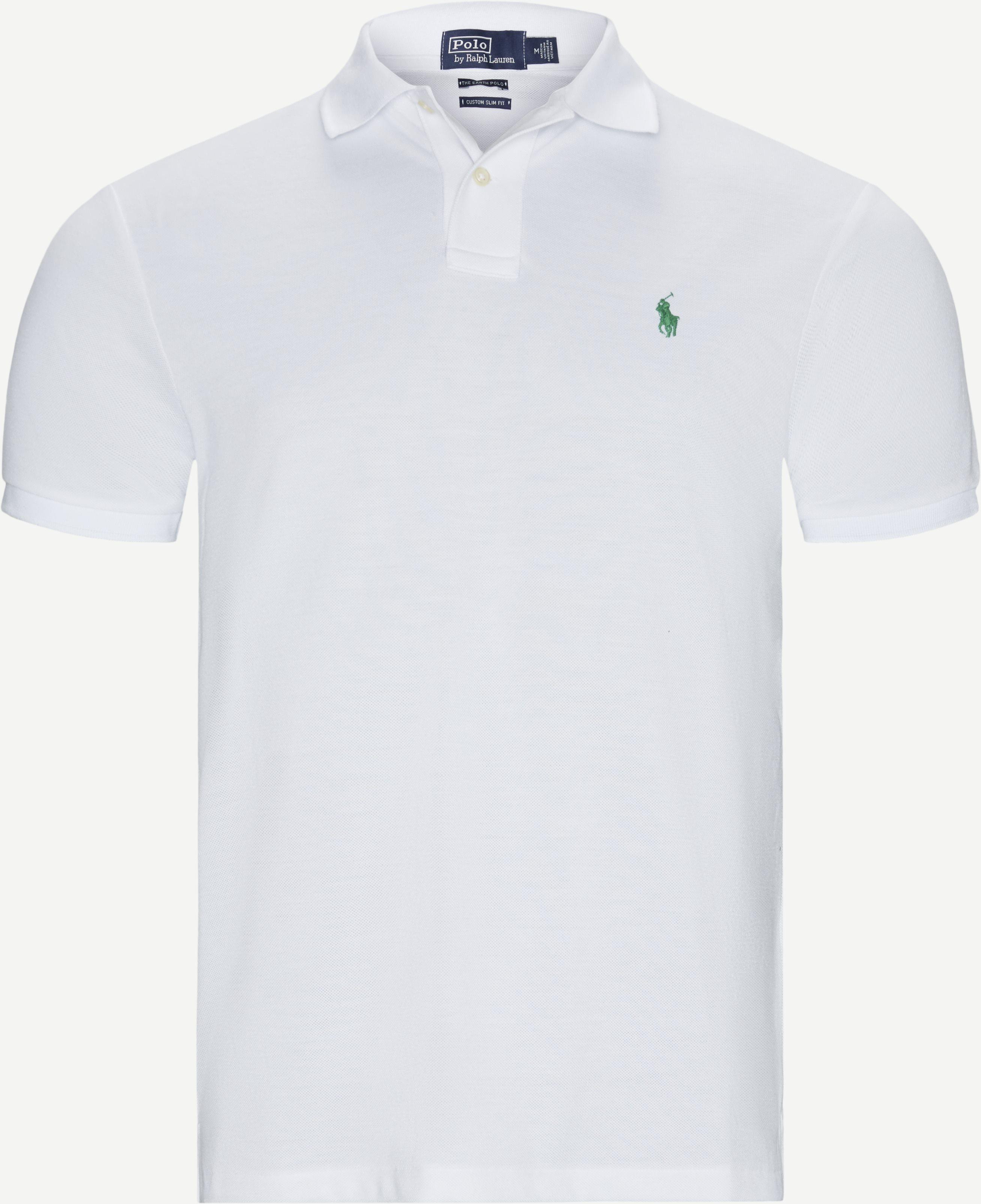 T-shirts - Regular slim fit - White