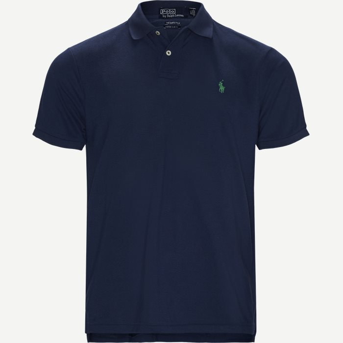Polo T-shirt - T-shirts - Regular slim fit - Blå