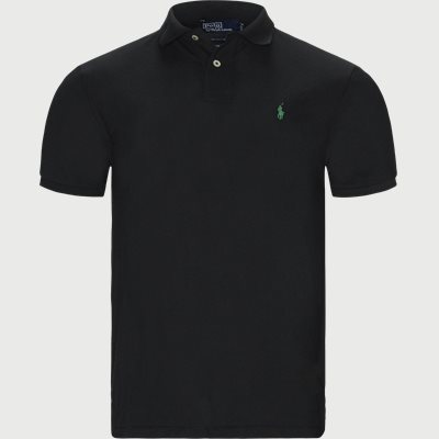 Regular slim fit | T-shirts | Svart