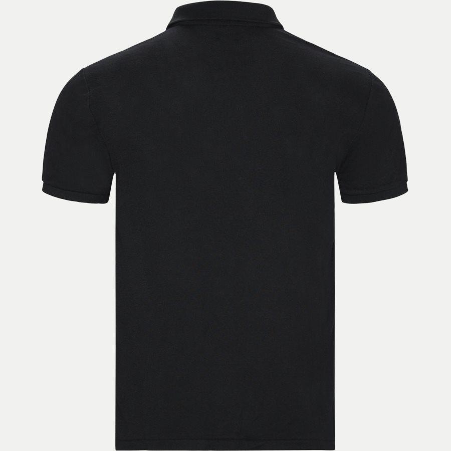 710751221 - Custom Slim Fit Polo T-shirt - T-shirts - Regular slim fit - SORT - 2